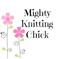 Mighty Knitting Chick